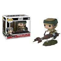 Funko POP! Star Wars Princess Leia with Speeder Bike