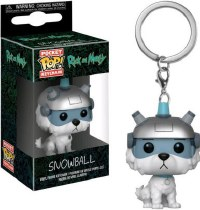 Funko POP! Keychain Rick and Morty Snowball