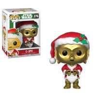 Funko POP! Star Wars Holiday Santa C3PO