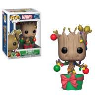 Funko Pop! Marvel Holiday Groot Lights & Ornaments