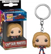 Funko POP! Keychain Captain Marvel
