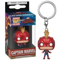 Funko POP! Keychain Captain Marvel (with Helmet)
