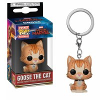 Funko POP! - Keychain Captain Marvel Goose the Cat