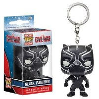 Funko POP! Keychain Civil War Black Panther