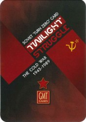 Twilight Struggle Turn Zero Expansion English