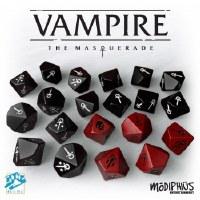 Vampire The Masquerade 5th Ed Dice Set 20xW10