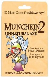 Munchkin 2 Unnatural Axe Expansion