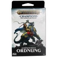 Warhammer Champions TCG Kampagnendeck Ordnung Deutsch