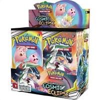 Pokemon Sun & Moon Cosmic Eclipse Booster Display English