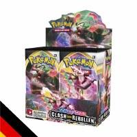 Pokemon Schwert & Schild Clash der Rebellen Display Vorbest