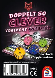 Doppelt So Clever Ersatzblock Deutsch
