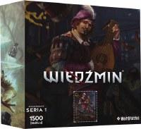 Heroes of the Witcher Series 1 Puzzle Dendelion (1500)