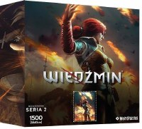 Heroes of the Witcher Series 2 Puzzle Merigold (1500)