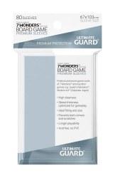 UltGuard Premium Soft Sleeves für Brettspielkarten (80)