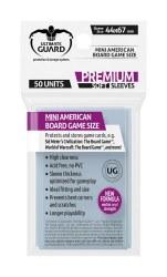 UltGuard Soft Sleeves Brettspiielkarten Mini-American (50)