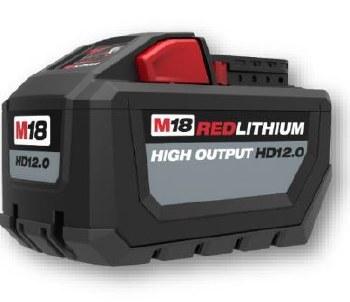 M18 HIGH OUTPUT 12.0 BATTERY