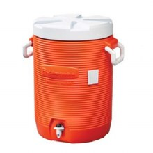 5GAL ORANGE WATER JUG