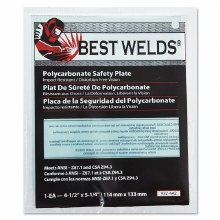 4-1/2 x 5-1/4 CLEAR SAFETY PLATE