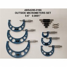 "6PC 0 - 6"" MICROMETER SET"
