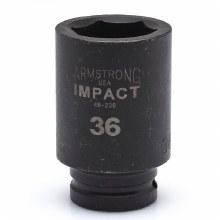 """D-3/4"""" DR X 23MM IMPACT DEEP 6PT"""