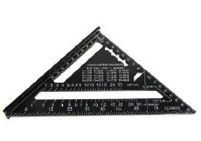 "7"" HD ALUMINUM RAFTER SQUARE"