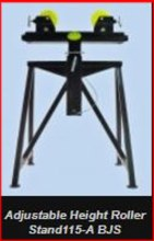 ADJUSTABLE HEIGHT 4 LEG ROLLER STAND
