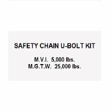 U-BOLT SAFETY CHAIN KIT