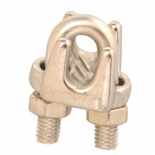 """1/8"""" WIRE ROPE CLIP SS"""