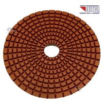 "4"" 50 GRIT WET POLISHING PAD"