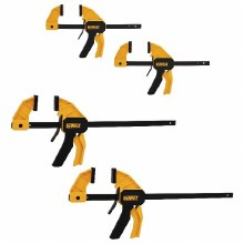4PK MED-LARGE QUICK CLAMPS