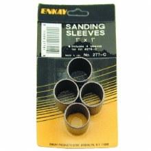 "4PC SANDING SLVS 1"" x 1"""