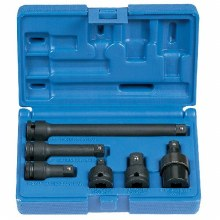 "3/8"" DR 6 PC ADAPTER/EXT SET"