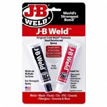 J-B WELD TWIN TUBE 1OZ EA