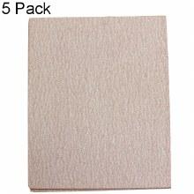 "4½"" x 5½"" SAND PAPER 60G 5PK"