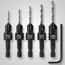 5PC COUNTERSINK SET