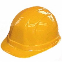 HARD HAT - YELLOW - RATCH SUSP