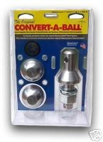 "1"" 2-BALL SET STAINLES-1-7/8&2"