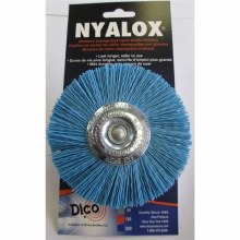 "4"" BLUE NYLON WHEEL"