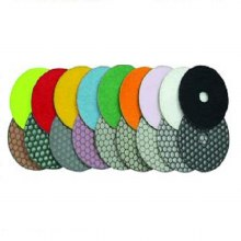 "4"" DRY POLISHING PAD 3000G"