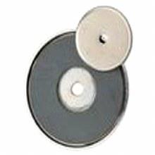 SHALLOW POT MAGNET 35LB PULL