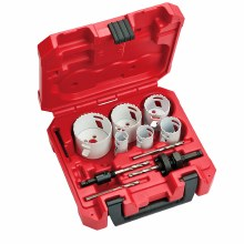 10pc ICE HOLE SAW KIT