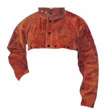 XL LEATHER CAPE SLEEVE