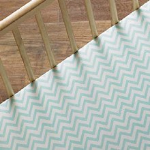 Aqua Chevron Sheet