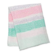 Bamboo Pink Blanket