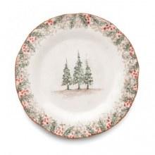 Arte Italica Natale Dinner Plate