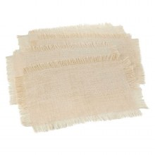 Fringed Jute Placemat