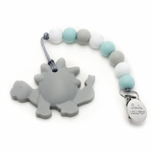 Gray Dino Teether