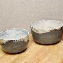 Gray Small Mixing Bowl