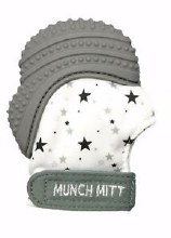 Grey Munch Mitt Stars