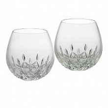Lismore Nouveau Red Stemless (Set of Two)